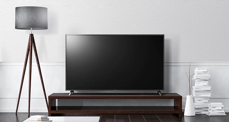 Smart tivi LG 4K 55 inch 55UM7100PTA Thiết kế đơn giản tinh tế