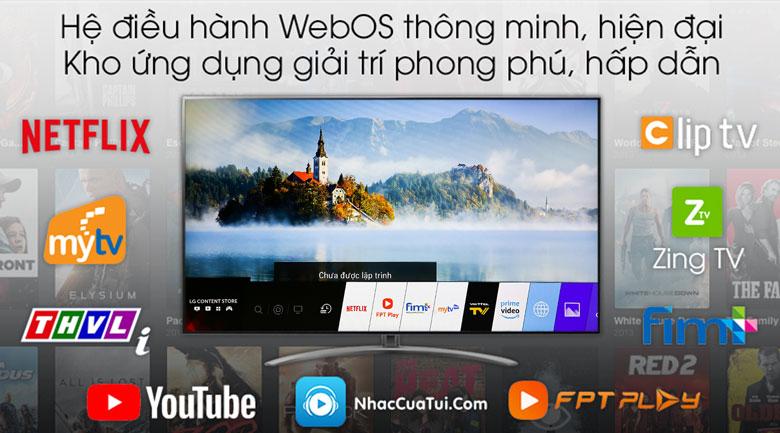 Smart Tivi LG 4K 65 inch 65SM9000PTA - hệ diều hành
