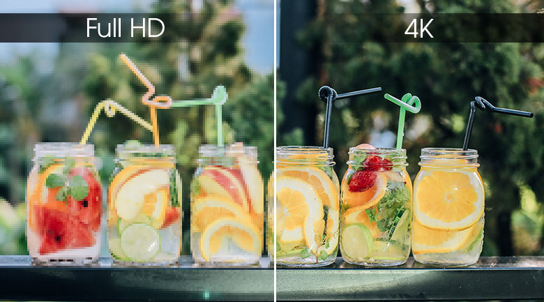 Độ phân giải Ultra HD 4K - Smart Tivi LG 4K 65 inch 65SM9000PTA
