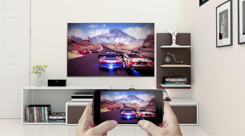 Trình chiếu nội dung điện thoại lên tivi vớiScreen Mirroring