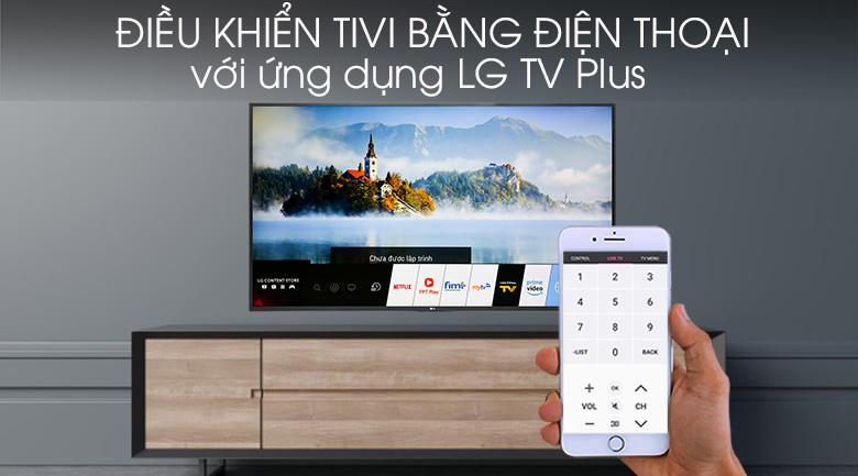 Điều khiển tivi nhà bằng điện thoại qua LG TV Plus