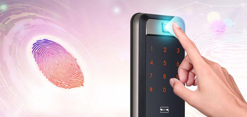 Khóa vân tay Samsung SHP-DP609 Quét và đọc vân tay nhanh và chính xác